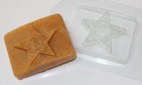 Бляха, форма для мыла пластиковая